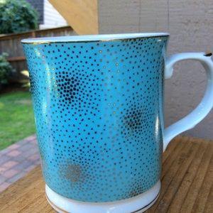 Grace's Teaware, blue with gold mug